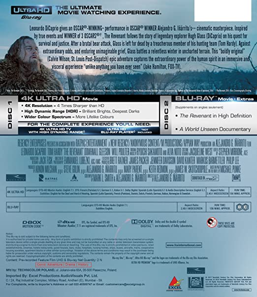 The Revenant (English) hindi dubbed full movie download