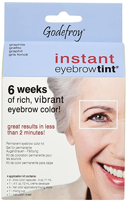Godefroy Instant Eyebrow Tint, Light Brown: Amazon.ca: Beauty