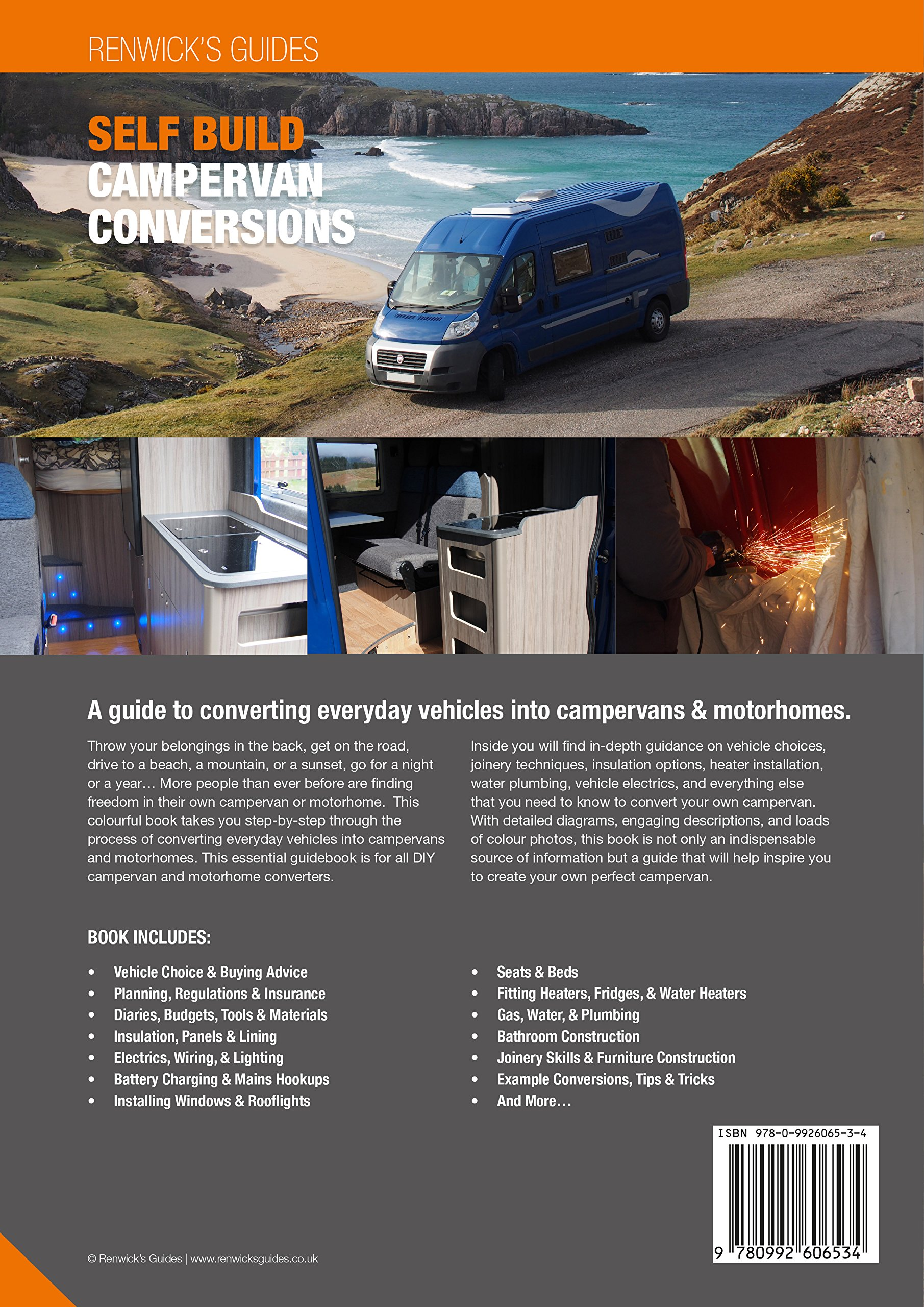 Self Build Campervan Conversions A Guide To Converting Everyday Wiring Diagram For Recreational Vehicles Into Campervans Motorhomes Kenny Biggin 9780992606534 Books