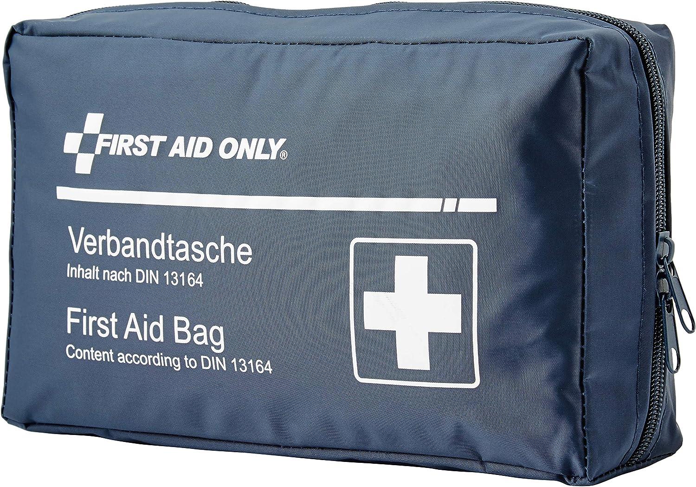 First Aid Only Verbandtasche Für Auto Kfz Din 13164 Blau P 10019 Auto
