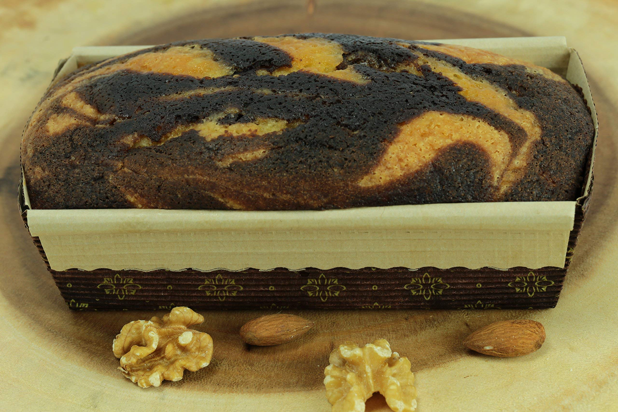 New Premium Paper Baking Loaf Pan, Nonstick, Disposable, All Natural & Eco Friendly, for Chocolate Cake, Banana Bread By Ecobake (100) by Ecobake (Image #3)