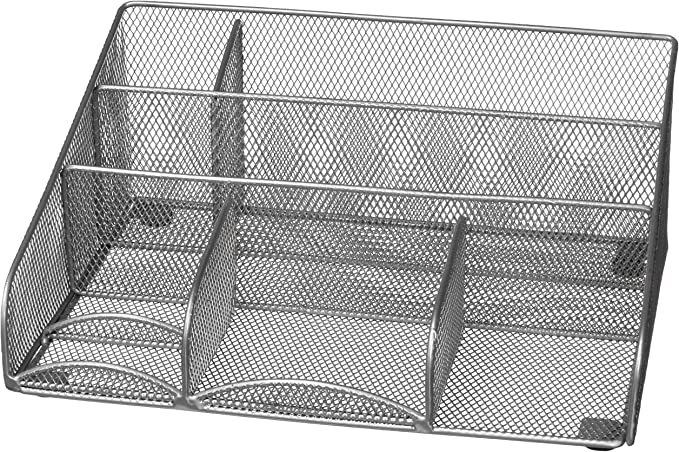 Silver 3420429 Design Ideas Desk Station Mesh