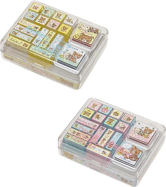 Happy Life Rilakkuma FT34901 San-X Rilakkuma Stamp Set 1
