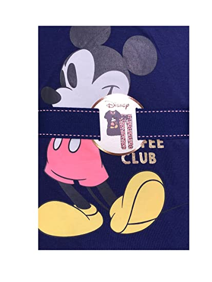 Primark Disney Mickey Minnie Mouse Ladies Girls Mujeres Pijamas Pijamas PJ Set UK Small 6-8 EU 34-36: Amazon.es: Hogar