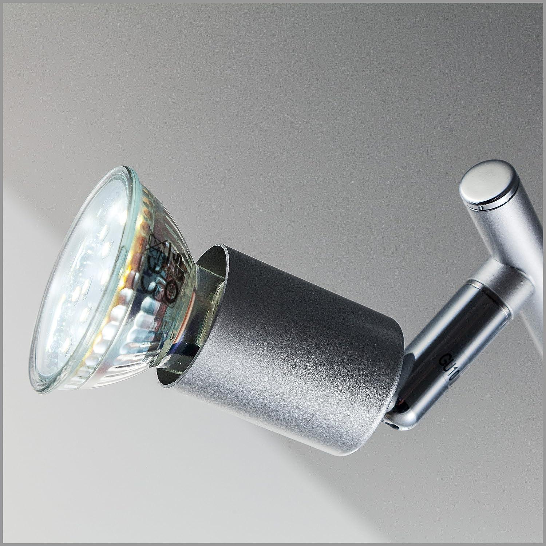 LED Deckenleuchte Schwenkbar Inkl. 2 x 3W Leuchtmittel 230V GU10 ...