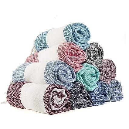 544f885e38 Amazon.com  Gute Turkish Towels Bath Beach Hammam Towels