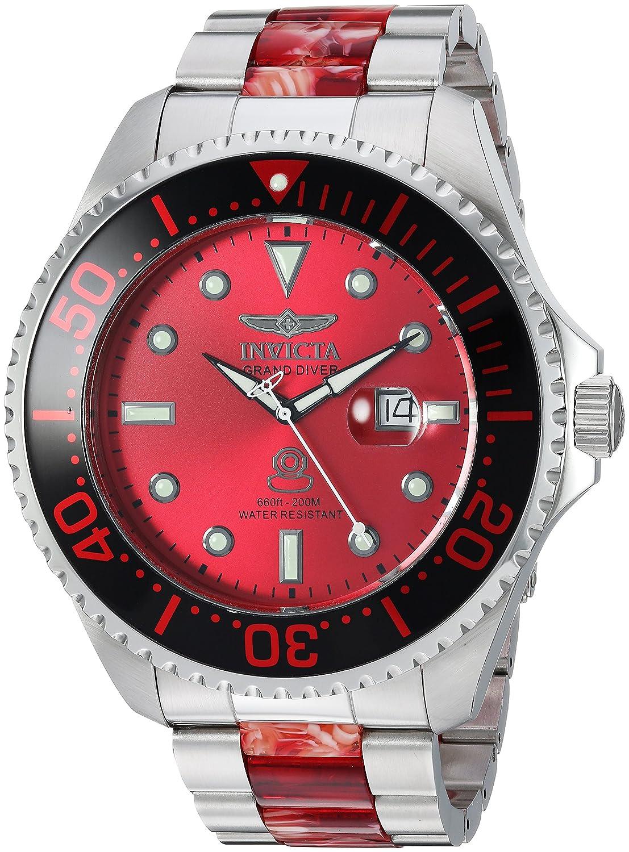 Invicta Men 's ' Pro Diver ' QuartzステンレススチールDiving Watch, Color : Two Tone (Model : 24287 ) B079FBCTV2