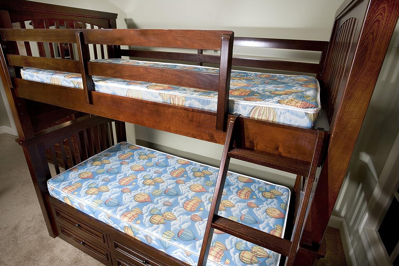 amazoncom bunk bed or dorm comfort foam 5inch mattress twin kitchen u0026 dining - Bunk Bed Mattress Twin