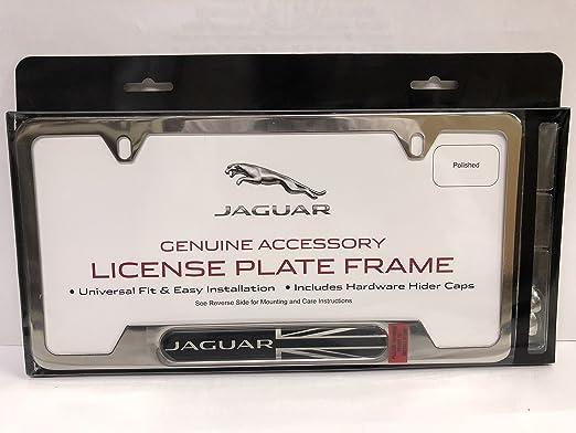 Laser Etched Premium Design Range Rover Black License Plate Frame Licensed
