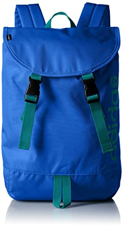 82571f4730 Image Unavailable. Image not available for. Color  adidas BC + logo  backpack U BIO76 AP4425 (Blue   E Cutie Green S16)