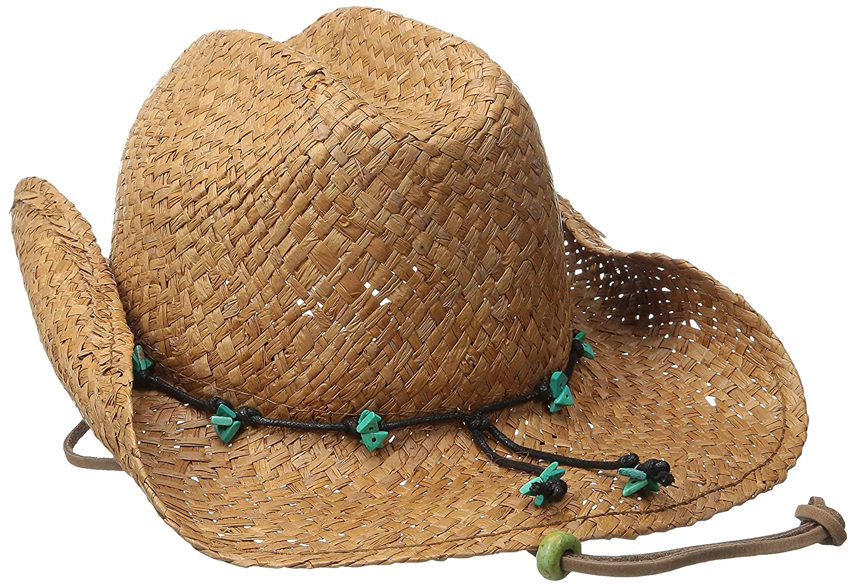 c4dca531388 Scala Womens Straw Cowboy Hats