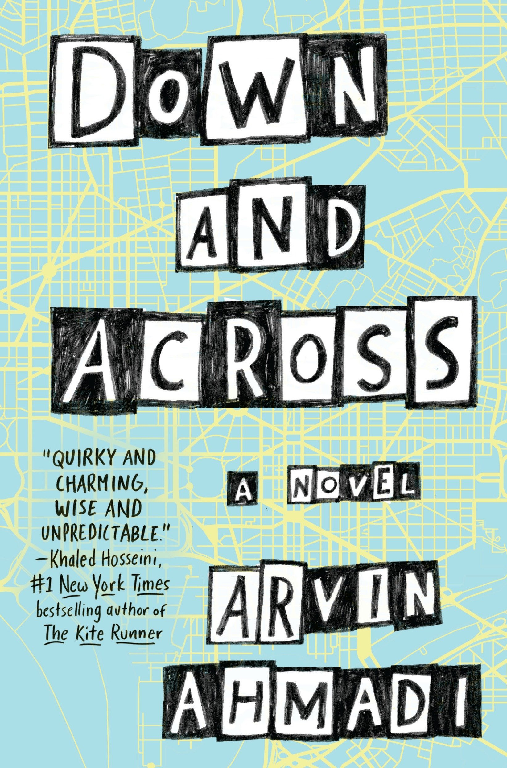 Cover art for the book entitled Down and Across