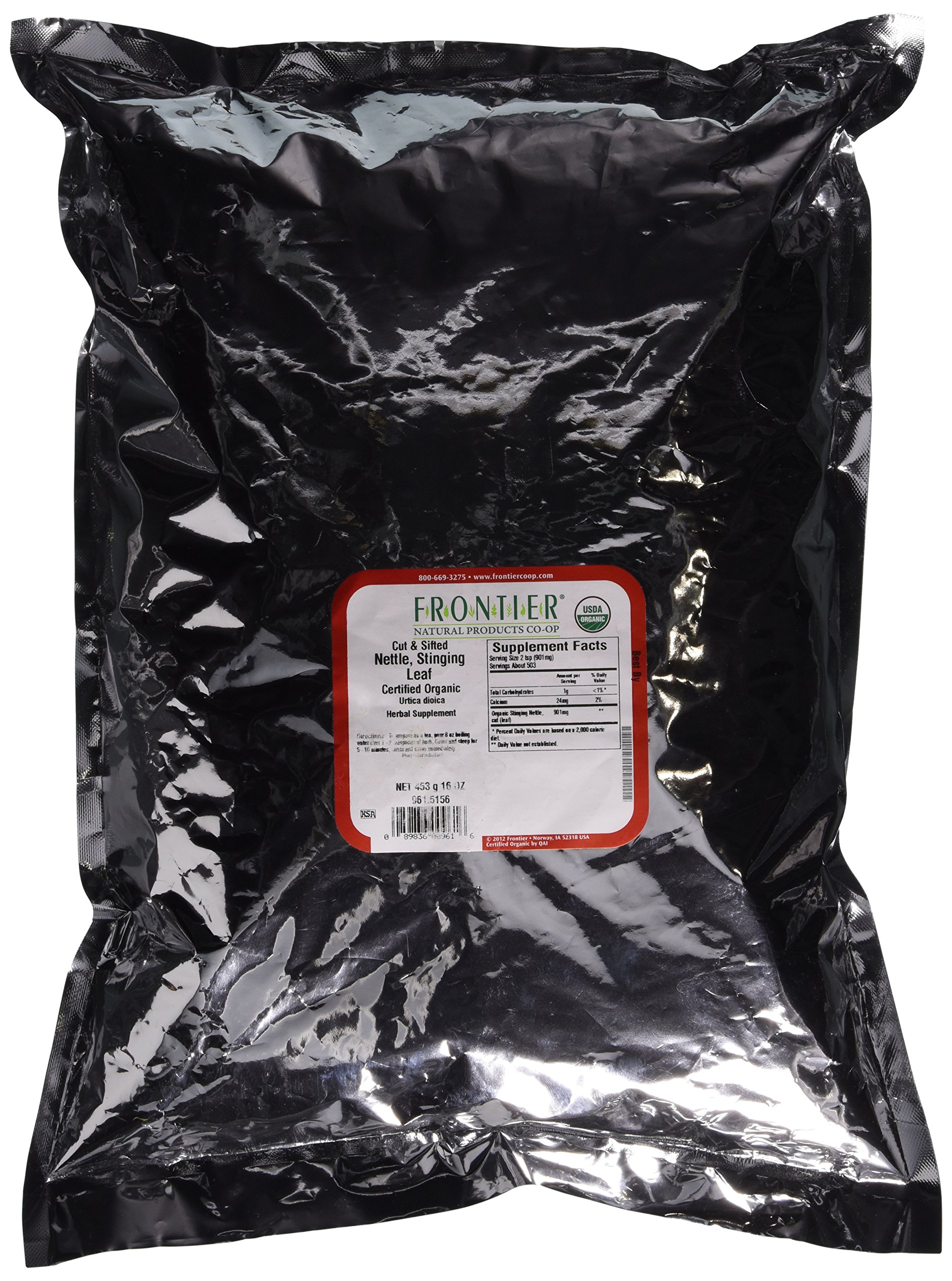 Nettle Stinging Leaf, Cut & Sifted - 1 lb - Bulk