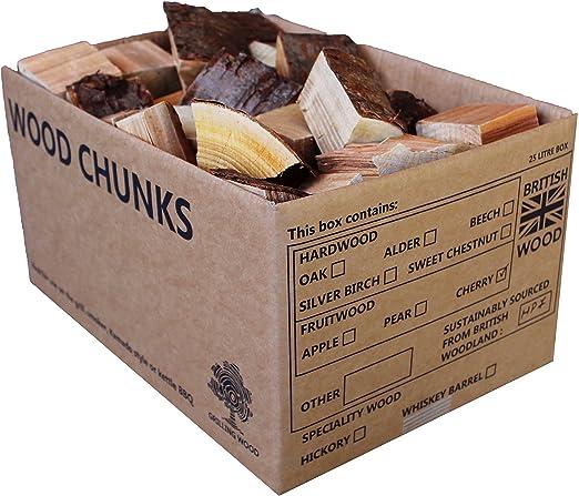 Pezzi di legno da affumicatura per barbecue /5/kg