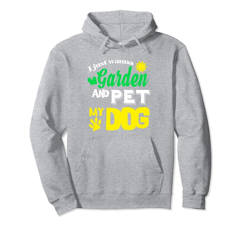 Funny Gardener Dog Lover Hoodie Gardening Men Women Gift-AZP