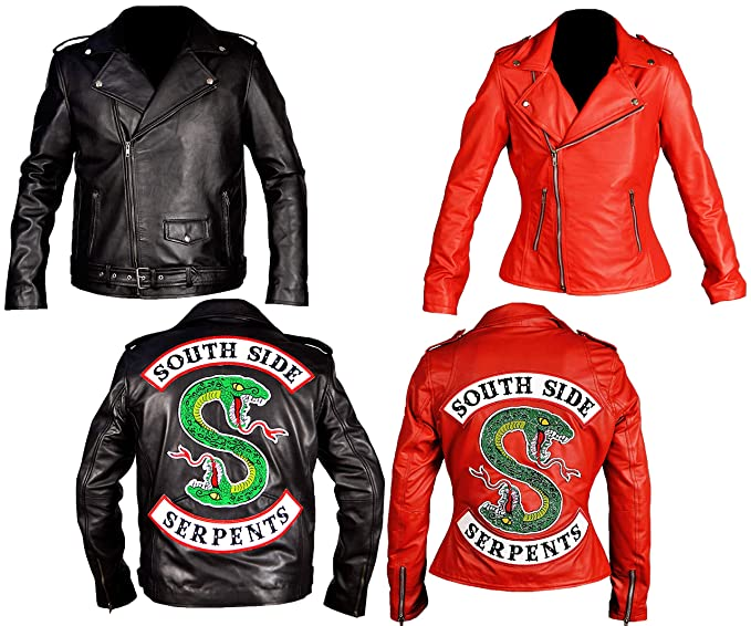 Western Fashions Girls Riverdale Southside Serpents Biker ...