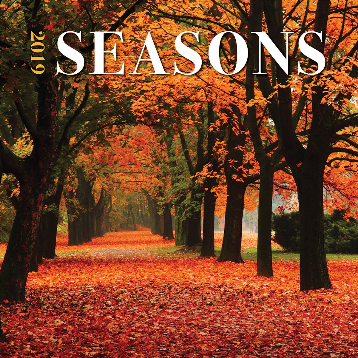 Turner Photo Seasons 2019 Wall Calendar (199989400500 Office Wall Calendar (19998940050)