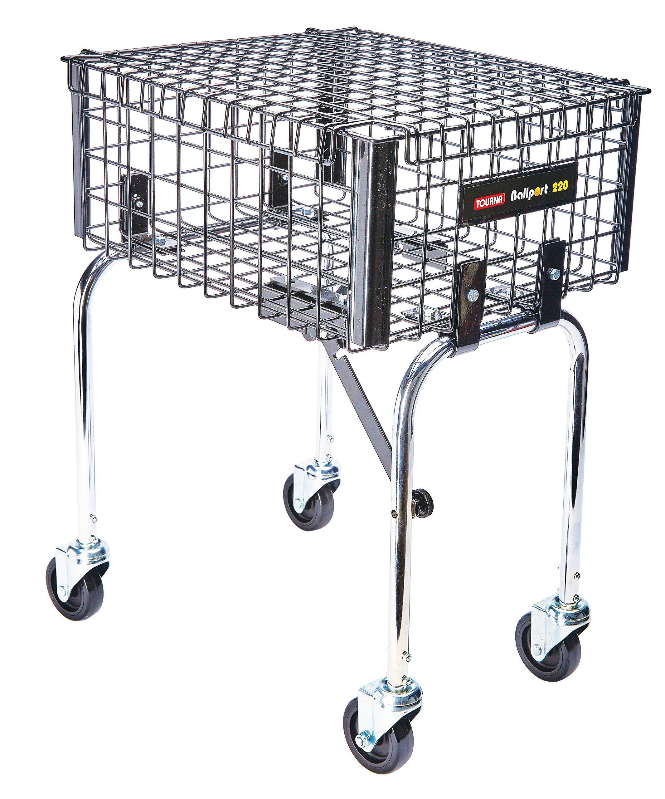 Tourna Ballport 220 Travel Teaching Cart by Tourna