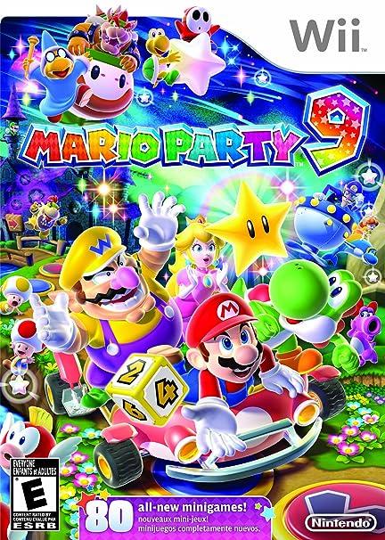 Amazoncom Mario Party 9 Nintendo Wii Video Games