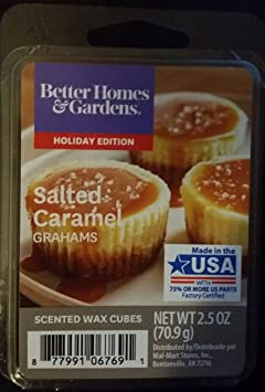 Amazon.com: Better Homes and Gardens Scented Wax Cubes - Salted Caramel Grahams: Home & Kitchen