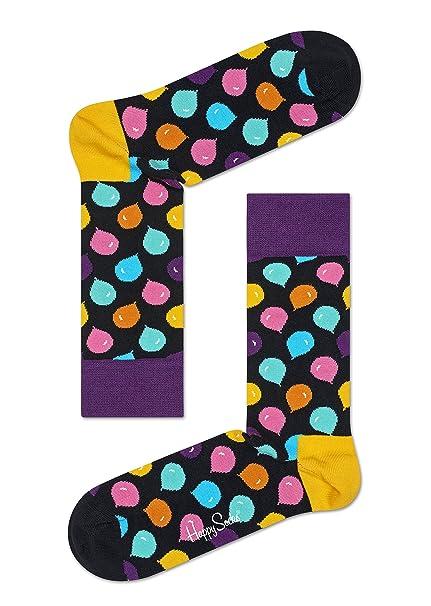 Happy Socks Men s Calf Socks  Amazon.in  Clothing   Accessories b993a240d23