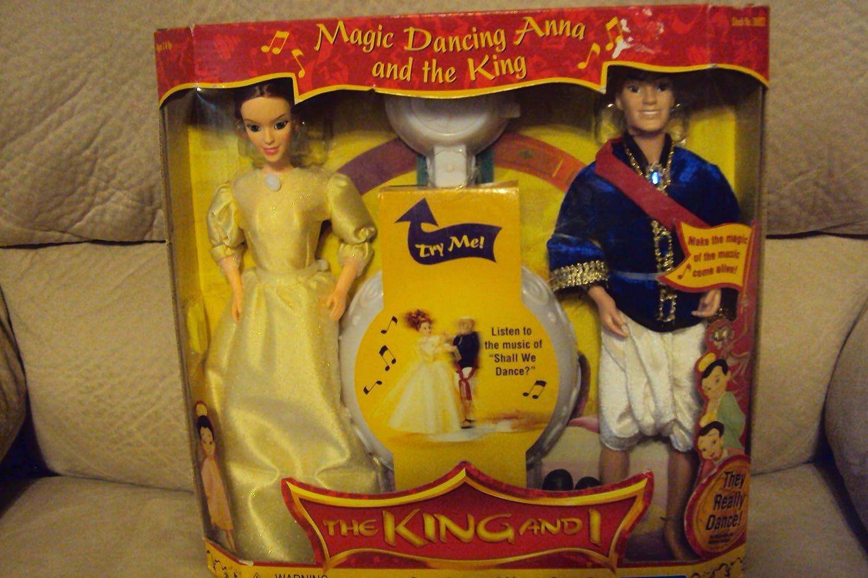 Envío 100% gratuito The King and I Magic Dancing Dancing Dancing Anna and the King Doll Set by Playmates  ahorra hasta un 80%