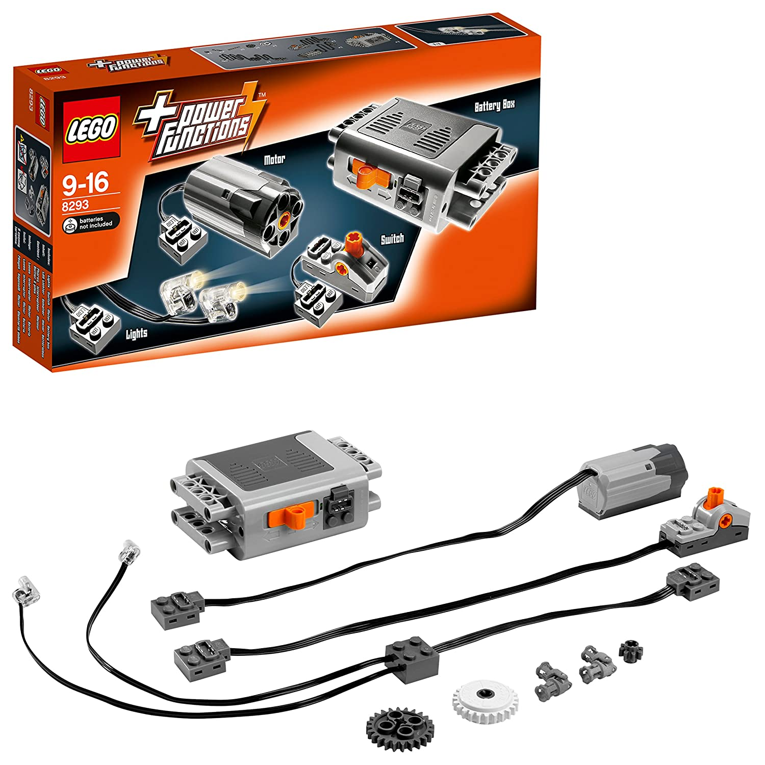 LEGO Technic 8293 - Power Functions Tuning-Set B0014QXN08
