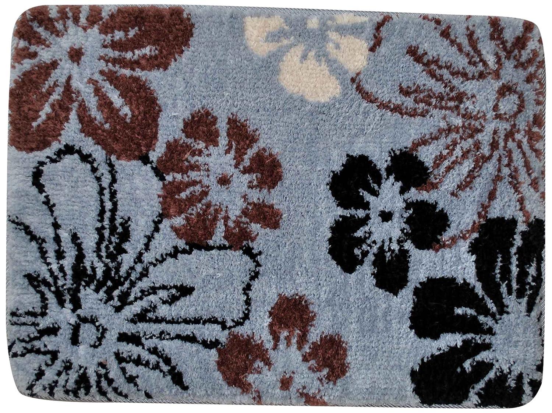 Burgundy 23483 Fashion Street Memory Foam Howaii Bath Rug Long