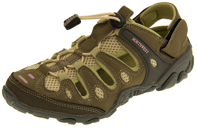 Northwest Territory Mujer Beige Y Morado Trekking Zapatos EU 38 jmc8X6P