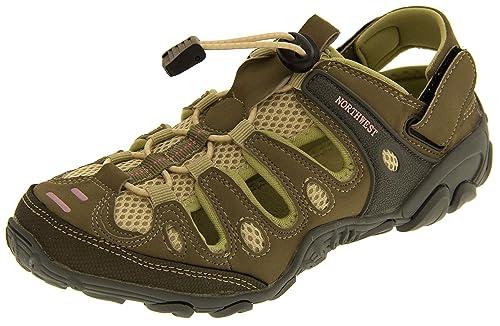 Northwest Territory Mujer Beige Y Morado Trekking Zapatos EU 36 EtzB7A