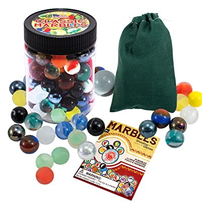 Channel Craft Classic Marbles: Toys & Games