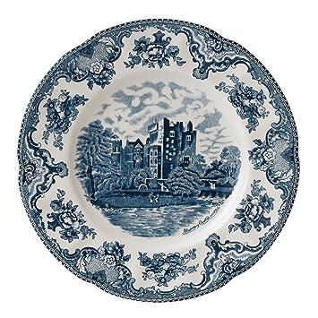 Johnson Brothers Old Britain Castles Blue Dinner Plate 10\u0026quot; ...  sc 1 st  Amazon.com & Amazon.com | Johnson Brothers Old Britain Castles Blue Dinner Plate ...