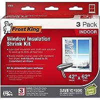 Deals on 3-Pack Frost King V73/3H Shrink Window Kit
