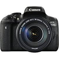 Canon EOS 750D Digital SLR Camera with 18 - 135 mm Lens