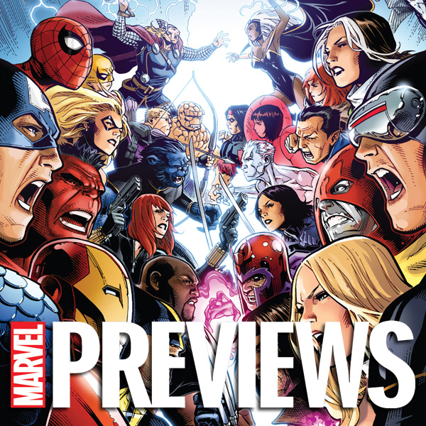 Marvel Previews (Issues) (12 Book Series)