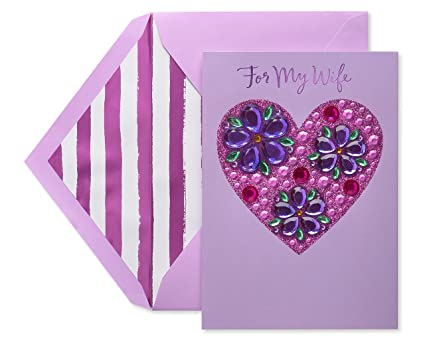Amazon Com American Greetings Premier Heart Mother S Day Card For