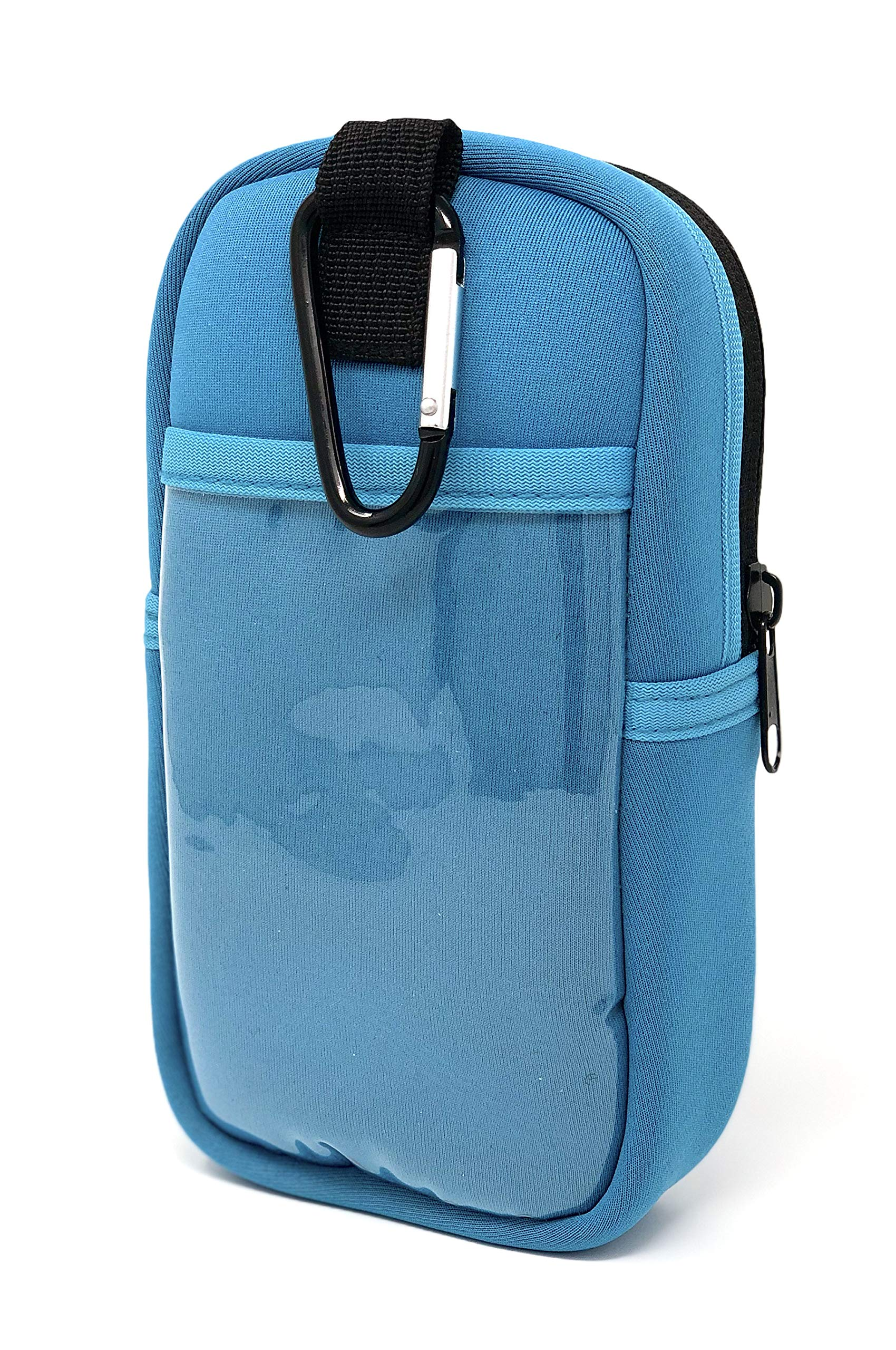 EPI-TEMP Epipen Insulated Case for Kids, Adults - Smart Carrying Pouch, Storage Bag, Powered by PureTemp Phase Change Material to Keep Epinephrine in Safe Temperature Range (Teal) by EPI-TEMP (Image #2)