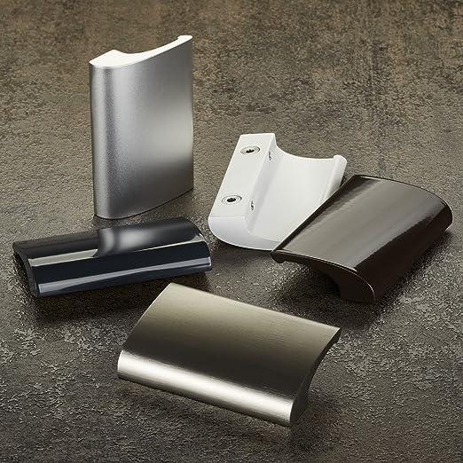 Poign/ée pour Porte Fen/être SEJA Aluminium 82 x 52 x 20 mm blanc Poign/ée de Tirage de SO-TECH/®