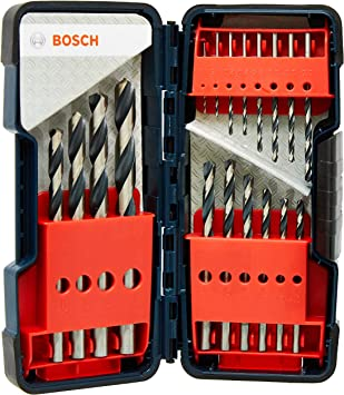 Bosch 18 Pièce HSS POINT TEQ Drill Bit Set-BRAND NEW