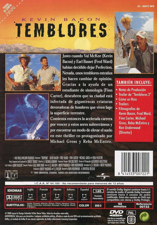 Temblores: Amazon.es: Kevin Bacon, Fred Ward,, Finn Carter ...