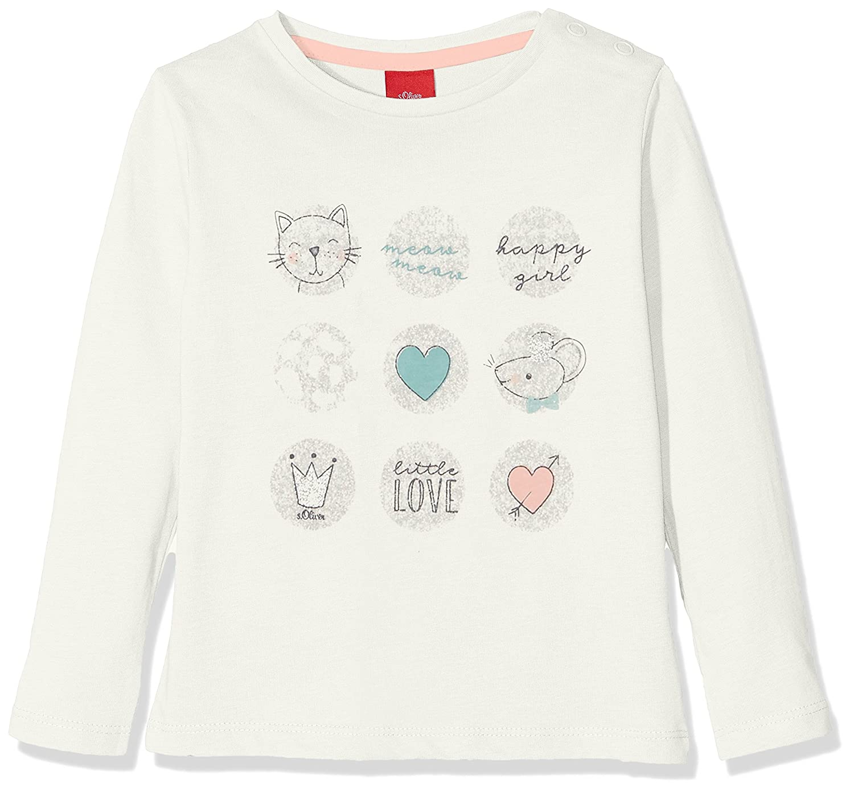 s.Oliver Baby Girls' Longsleeve T-Shirt 65.808.31.8139