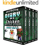 Diary of a Minecraft Chicken Jockey BATTLE STEED BOX SET - Collection 1: Unofficial Minecraft Books for Kids, Teens…
