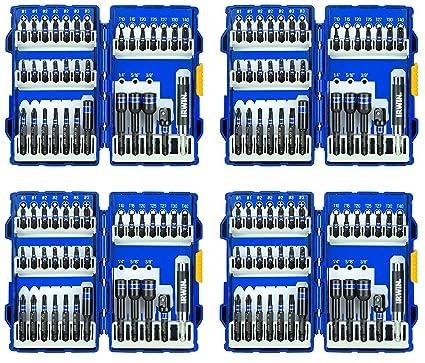 IRWIN Tools 33-Piece Impact Series Fastener Driver Bit Set (1840315) (4 Sets)