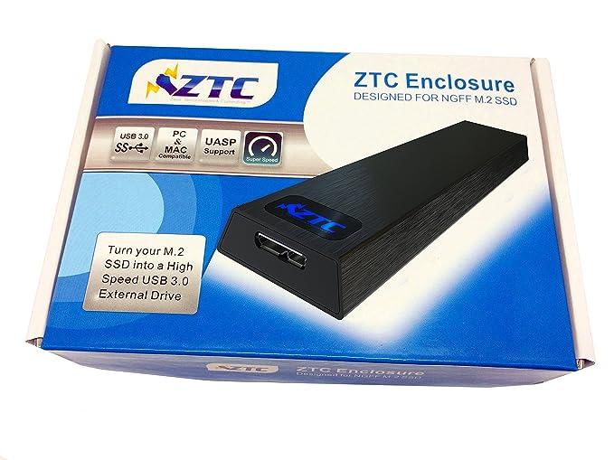 Amazon.com: ZTC Thunder NGFF M.2 caja de SSD para adaptador ...