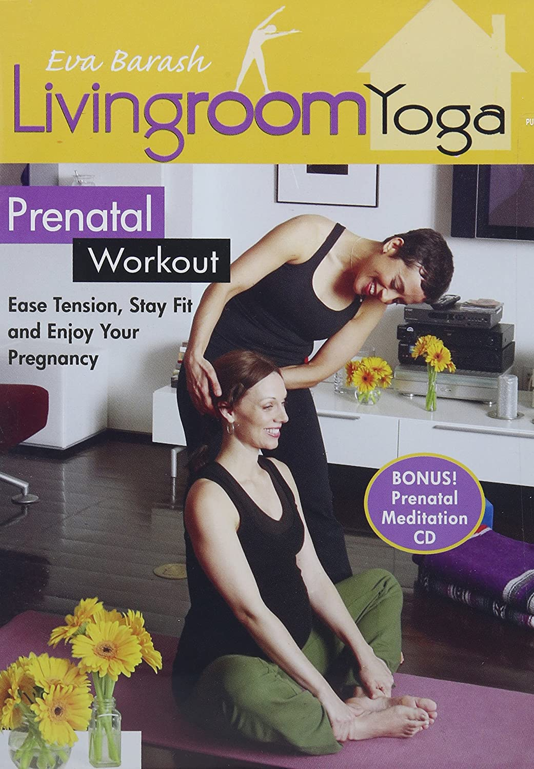 Amazon.com: Living Room Yoga Prenatal Workout [DVD]: Movies & TV