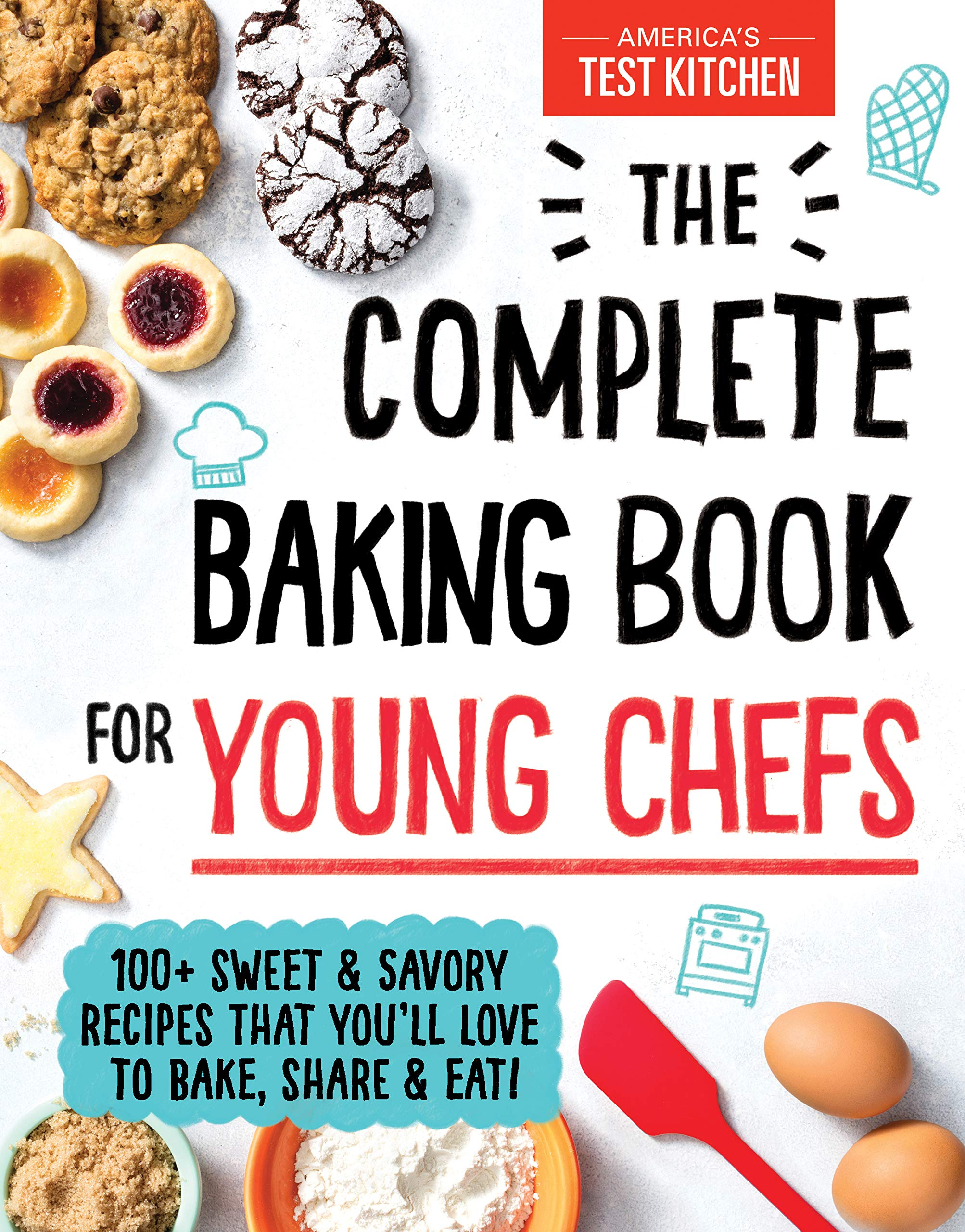 Image result for complete baking book for young chefs