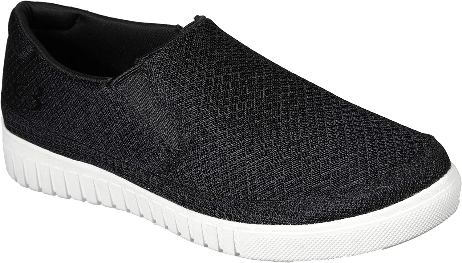 Concept 3 by Skechers Men's Naiter Mesh Slip-on Casual Sneaker