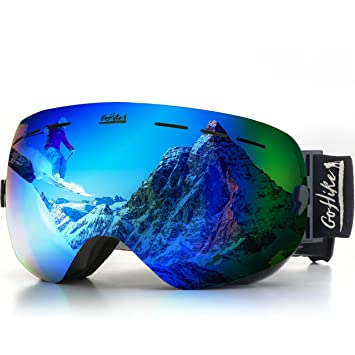 be nice ski goggles  Amazon.com : GoHike Ski Glasses -Unisex Snow Glasses with UV ...