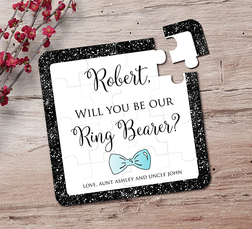 Ring Bearer Puzzle Invitation