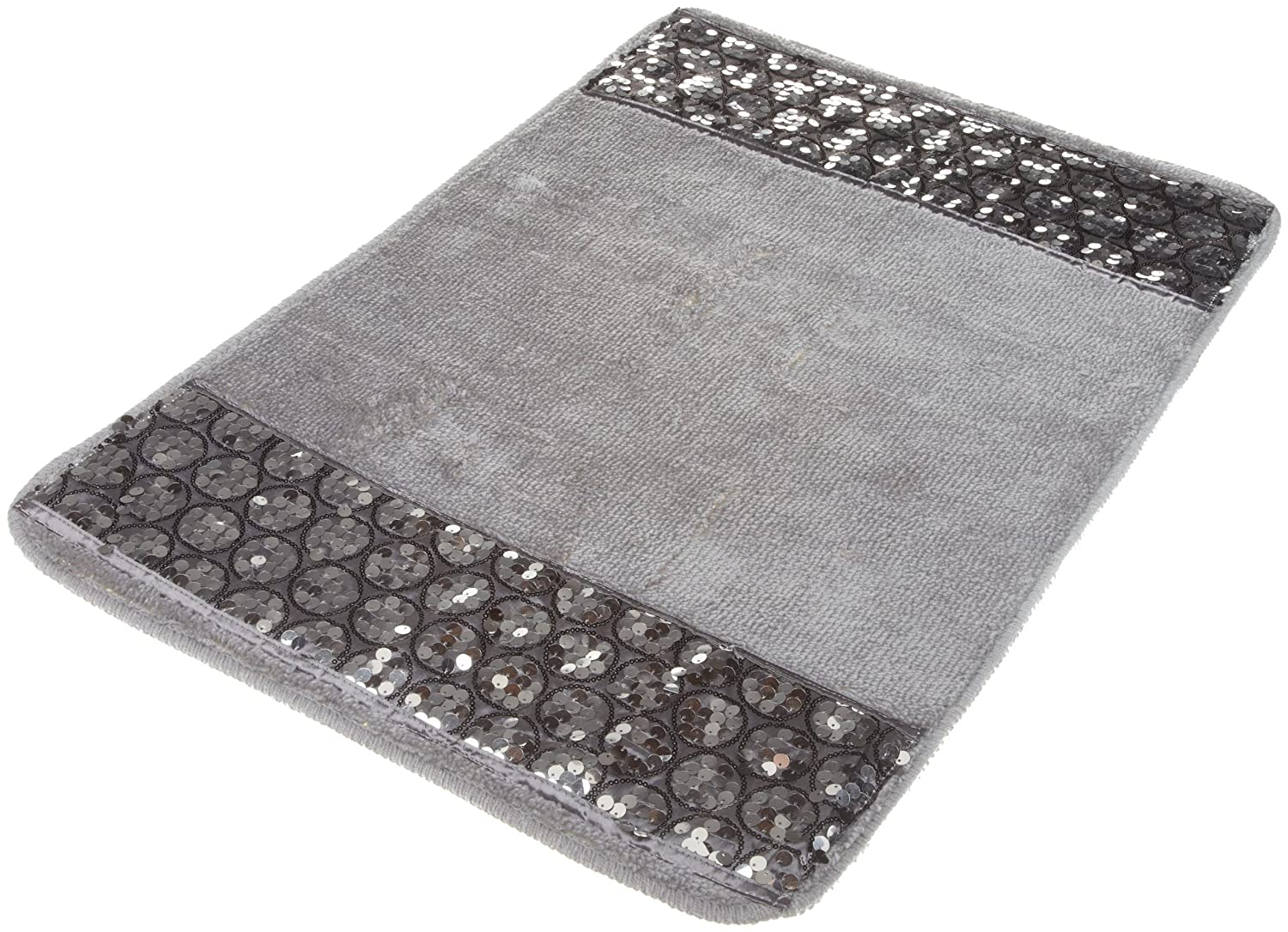 Gray Bath Rug Home Decor